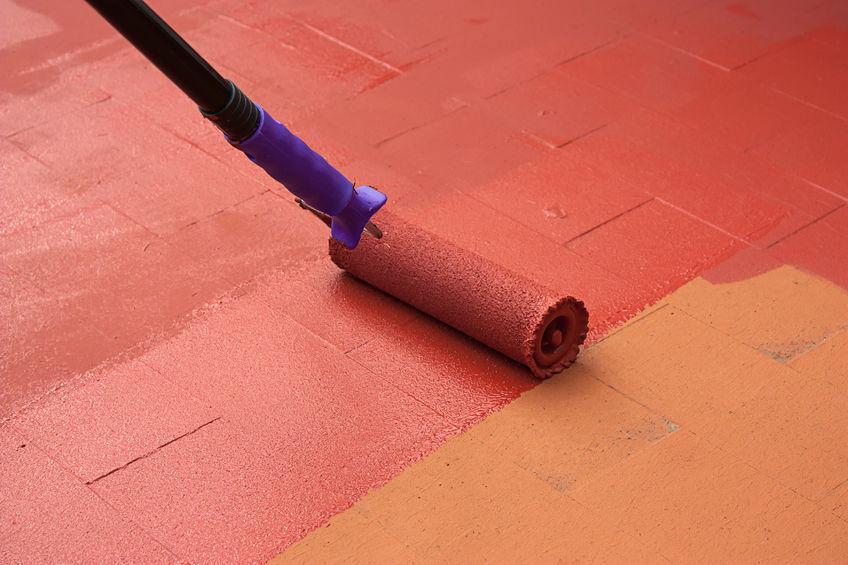 pintar suelo cemento