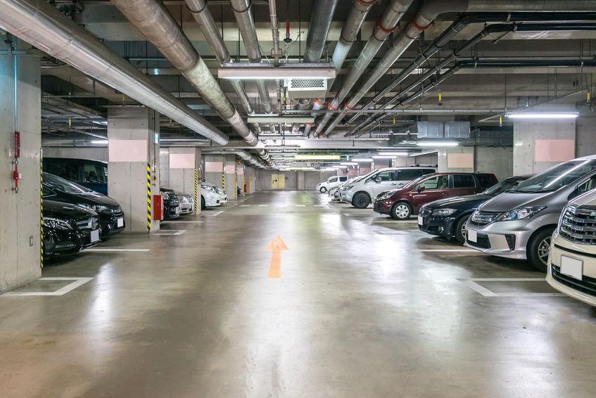 revestimiento suelo parking
